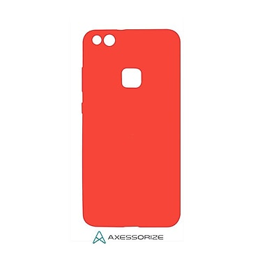 Axessorize Tempered Glass Screen Protector/Cell Phone Case Combo for Huawei P10 Plus, Candy Red (HUA1223)