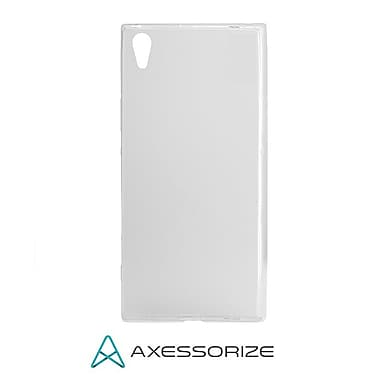 Axessorize Tempered Glass Screen Protector/Cell Phone Case Combo for Sony Xperia XA1 Ultra, Clear (SON1412)