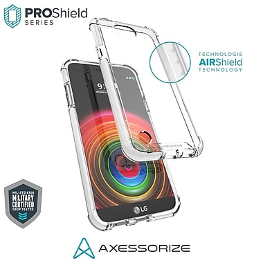 Axessorize PROShield Cell Phone Case for LG X Power 2, White (LGP1551)