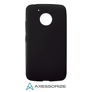 Axessorize Tempered Glass Screen Protector/Cell Phone Case Combo for Moto G5, Black (MOTO1200)