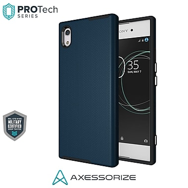 Axessorize PROTech Cell Phone Case for Sony Xperia XA1, Cobalt Blue (SONR1401)