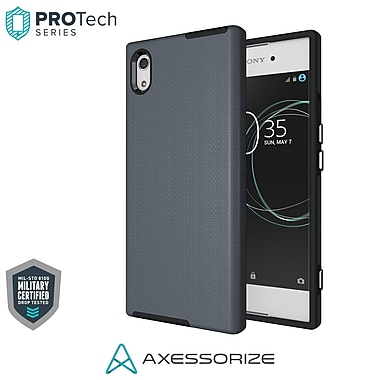 Axessorize PROTech Cell Phone Case for Sony Xperia XA1, Army Grey (SONR1404)