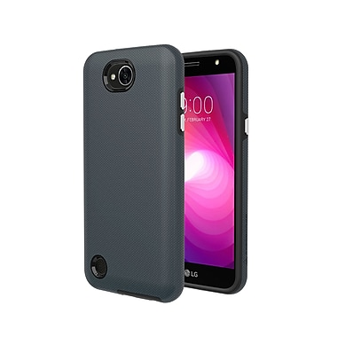 Axessorize PROTech Cell Phone Case for LG X Power 2, Army Grey (LGR1553)