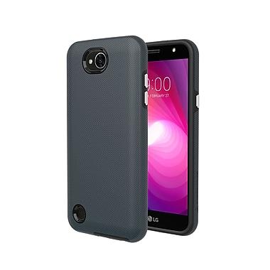 Axessorize - Etui PROTech pour cellulaire LG X Power 2, gris militaire (LGR1553)