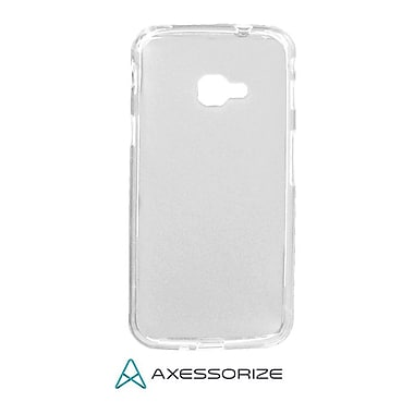 Axessorize Tempered Glass Screen Protector/Cell Phone Case Combo for Galaxy X, Clear (SAM2402)