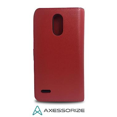 Axessorize - Etui Folio pour cellulaire LG Stylo 3 Plus, rouge (FOLSF6R)