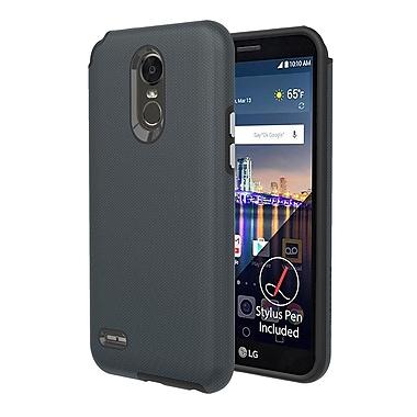 Axessorize - Etui PROTech pour cellulaire LG Stylo 3 Plus, gris militaire (LGR1603)