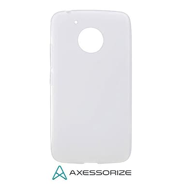 Axessorize Tempered Glass Screen Protector/Cell Phone Case Combo for Moto G5, Clear (MOTO1202)