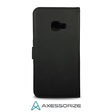 Axessorize Folio Cell Phone Case for Galaxy X Cover, Black (FOLXCOVN)