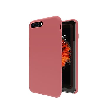 Axessorize Allure Cell Phone Case for iPhone 8/7 Plus, Red Coral (IP7PA1002)