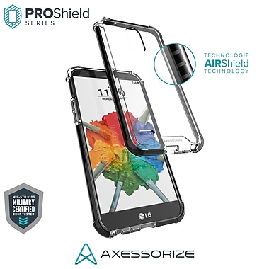 Axessorize PROShield Cell Phone Case for LG Stylo 3 Plus, Black (LGP1600)