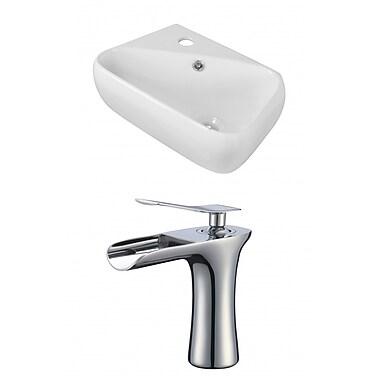 Jade Bath 17.5'' Wall Mount Bathroom Sink