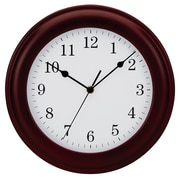 Symple Stuff 12'' Wood Wall Clock