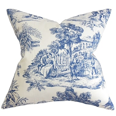 Darby Home Co Chalgrave Toile Etoile Bedding Sham; Queen