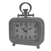 Williston Forge Industrial Vintage Tabletop Clock