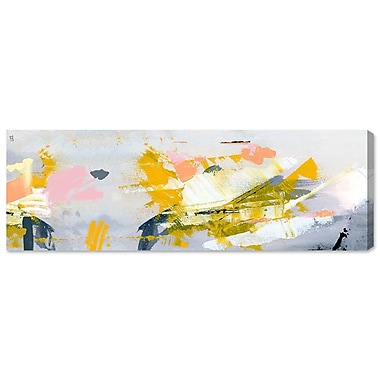 Ivy Bronx 'Retazos Largos' Painting Print on Wrapped Canvas; 30'' H x 10'' W x 1.5'' D