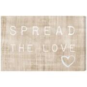 Ivy Bronx 'Spread The Love' Textual Art on Canvas; 16'' H x 24'' W x 1.5'' D