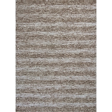Ebern Designs Arroyo Hand-Tufted Beige Area Rug; 8' x 10'