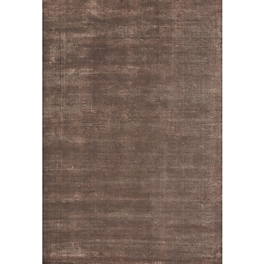 Union Rustic Sana Hand Knotted Wool Coral Area Rug; 6'6'' x 9'8''
