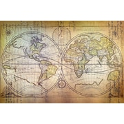 Williston Forge 'Planisphere Carte' Graphic Art on Wrapped Canvas; 26'' H x 40'' W x 1.5'' D