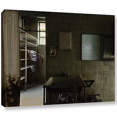 Williston Forge 'Abandoned Lunatic Asylum 8' Photographic Print on Canvas; 18'' H x 24'' W x 2'' D
