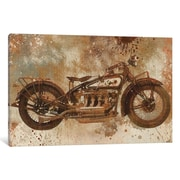Williston Forge 'Live To Ride V' Graphic Art on Wrapped Canvas; 12'' H x 18'' W x 0.75'' D