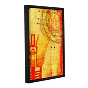 Williston Forge 'Modus Operandi' Framed Graphic Art on Wrapped Canvas; 18'' H x 12'' W x 2'' D