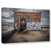 Williston Forge 'Abandoned Rooftop' Photographic Print on Canvas; 16'' H x 24'' W x 2'' D