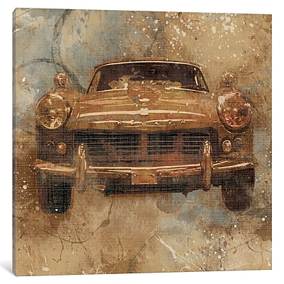 Williston Forge 'Live To Ride I' Graphic Art on Wrapped Canvas; 37'' H x 37'' W x 1.5'' D
