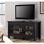 Latitude Run Cano 44'' Wood TV Stand; Black