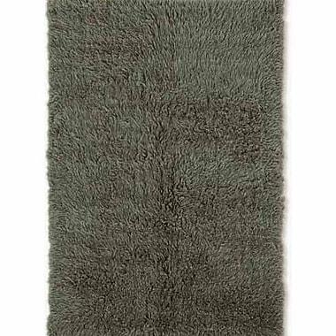 Latitude Run Carrico Flokati Hand-Woven Green Area Rug; 3' x 5'