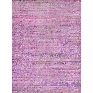 Mistana Bradford Purple Area Rug; 7' x 10'