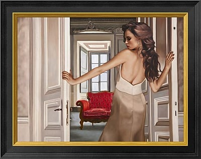 East Urban Home 'The Room' Framed Graphic Art Print; 14'' H x 18'' W