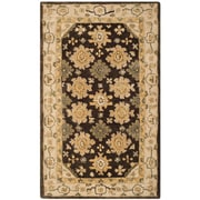 Alcott Hill Ladd Brown/Ivory Area Rug; 9'6'' x 13'6''