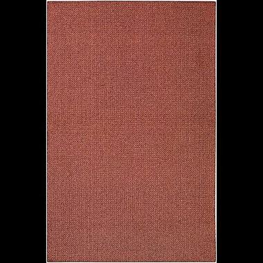 Charlton Home Deschamps Hand-Woven Pink Indoor/Outdoor Area Rug; 7'10'' x 11'2''