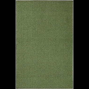 Charlton Home Deschamps Hand-Woven Green Indoor/Outdoor Area Rug; 5'3'' x 7'8''