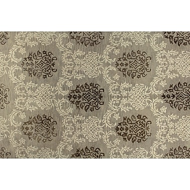 Alcott Hill Davidson Hand-Tufted Taupe Area Rug; 5'6'' x 8'6''