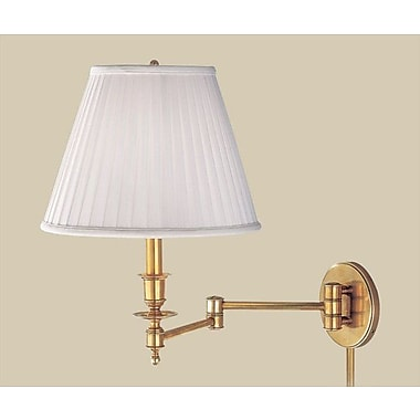 Darby Home Co Egerton 1-Light Swing Arm; Aged Brass
