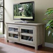 Latitude Run Cano 44'' Wood TV Stand; White Oak