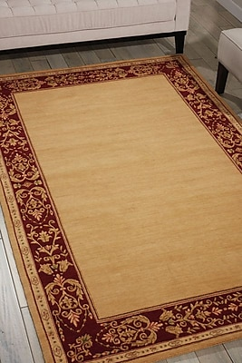 Astoria Grand Buchanan Beige Area Rug; Rectangle 5'3'' x 8'3''