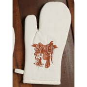 West Creation Western Boots and Saddle Oven Mitt (Set of 2)