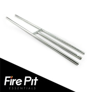 Fire Pit Essentials Stainless Steel Gas Fire Pit; 0.75'' H x 48'' W x 6'' D