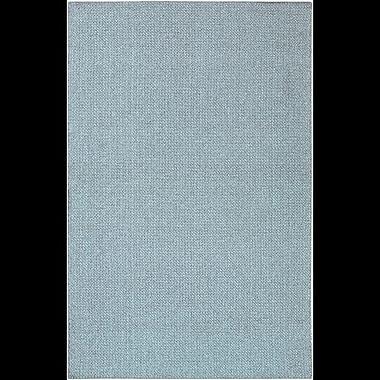 Charlton Home Deschamps Hand-Woven Blue Indoor/Outdoor Area Rug; 7'10'' x 11'2''