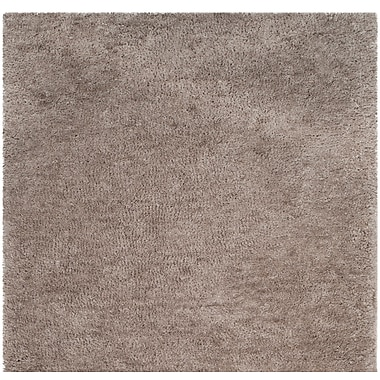 Charlton Home Detweiler Hand-Tufted Gray Area Rug; Square 6'