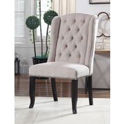 Darby Home Co Hilaire Upholstered Dining Chair (Set of 2); Beige