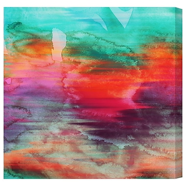 Latitude Run 'Rallentando' Painting Print on Wrapped Canvas; 30'' H x 30'' W
