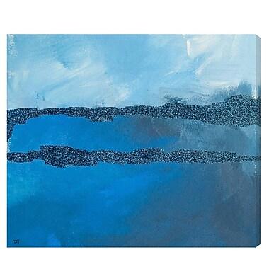 Ivy Bronx 'Winter Sky' Painting Print on Canvas; 30'' H x 40'' W x 1.5'' D
