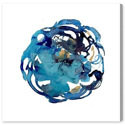 Ivy Bronx 'Camellia Azul' Painting Print on Canvas; 20'' H x 20'' W x 1.5'' D