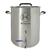 Kegco 3 Piece Brew Kettle Set; 14.25'' H x 17.5'' W x 14.5'' D