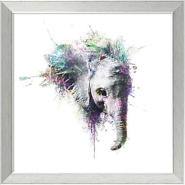 Ivy Bronx 'Elephant' Framed Graphic Art Print